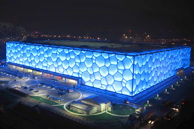 Beijing Water Cube exploration from China tour
