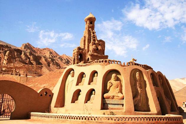 Bezeklik Thousand Buddha Cave in Silk Road China Tour