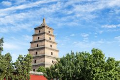 Big Wild Goose Pagoda in China