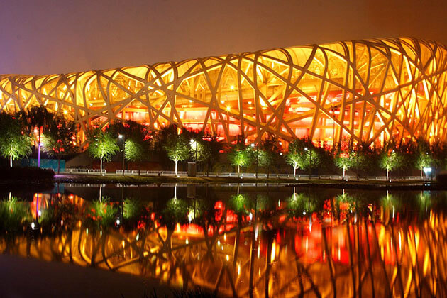 Bird's Nest– Beijing National Stadium