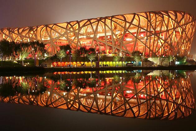 Bird Nest Stadium in Beijing