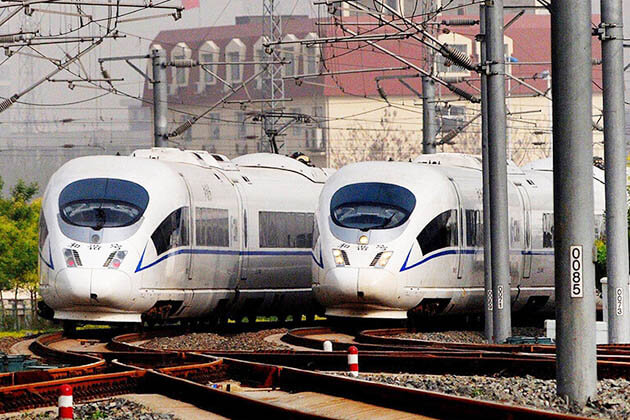 C Train in China tour