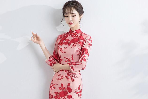 Cheongsam (Qipao) from Chinese costome
