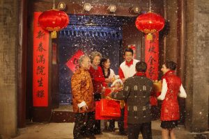 Chinese New Year -most popular holiday in China