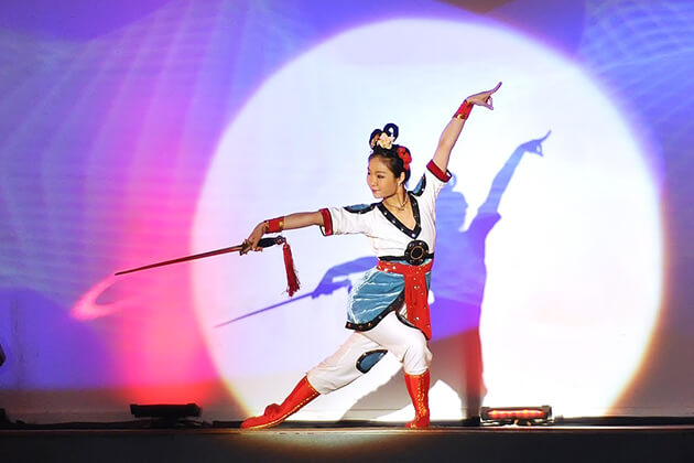 Chinese Traditional Sword Dance