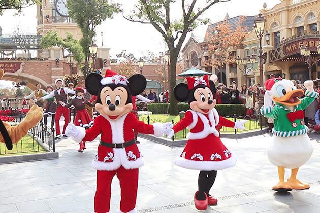 Christmas celebration in Shanghai