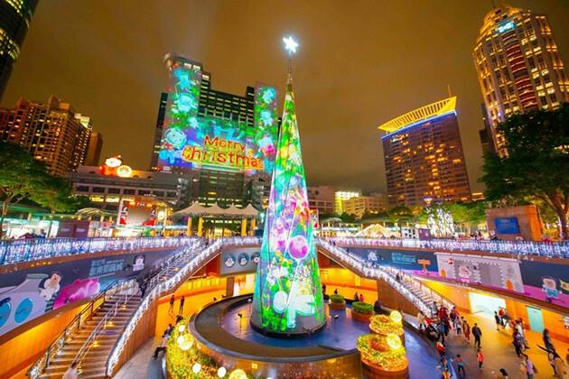 Christmas in Taipei, Taiwan