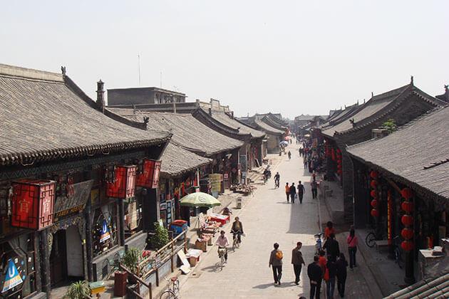 Ci Qi Kou ancient village in China