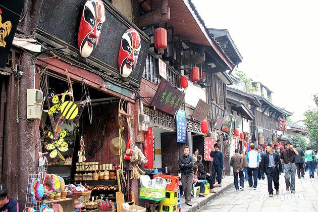 Ciqikou Ancient Town, China