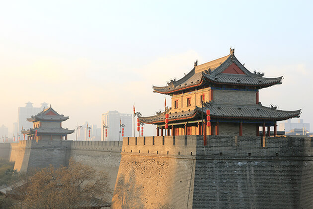 travelers of China Local Tours visit City Wall China