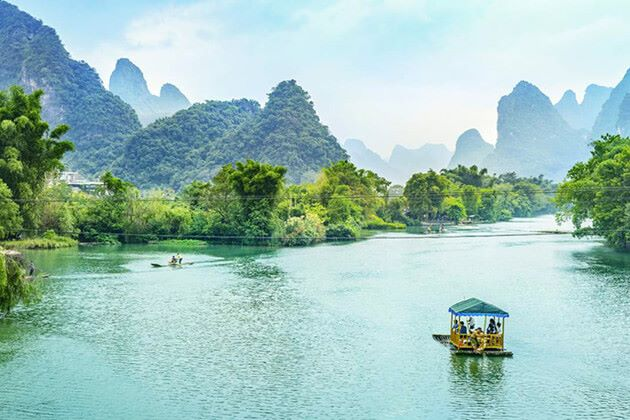 Cruise on The Li River in Guilin tour