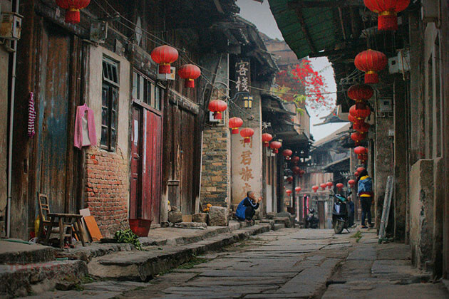 Daxu Old Town in Guilin