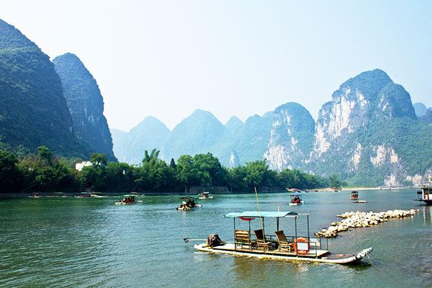 Discover Li River in China