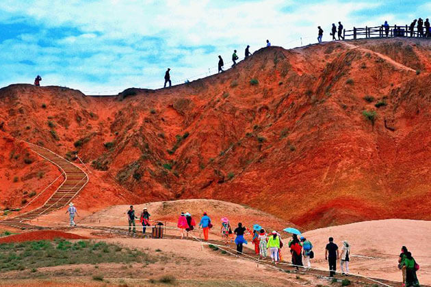 Discover Zhangye Danxia Landform in China Silk Road Tour