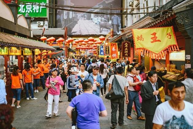 Donghuamen-Market-china -14 days