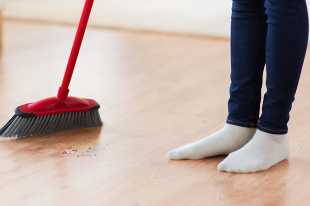 Don't Sweep or Clean in Chinese New Year