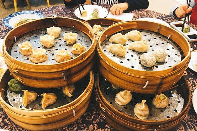 Dumpling dinner in Xian
