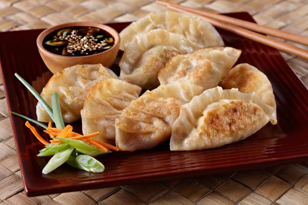 Enjoy special Chinese dumplings