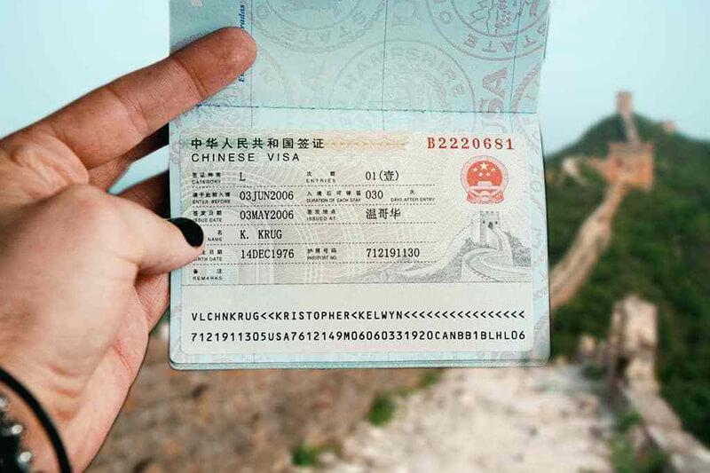Everything about China Tourist Visa (L visa)