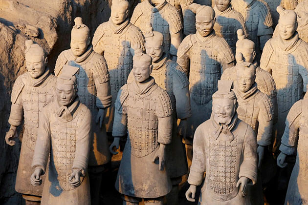 Experience Terracotta Warriors in China