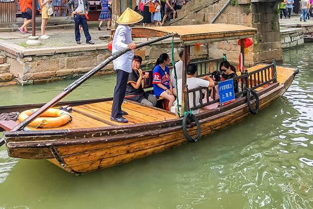Experience Zhujiajiao Water Town