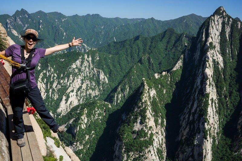 Explore Mount Huashan in Xian