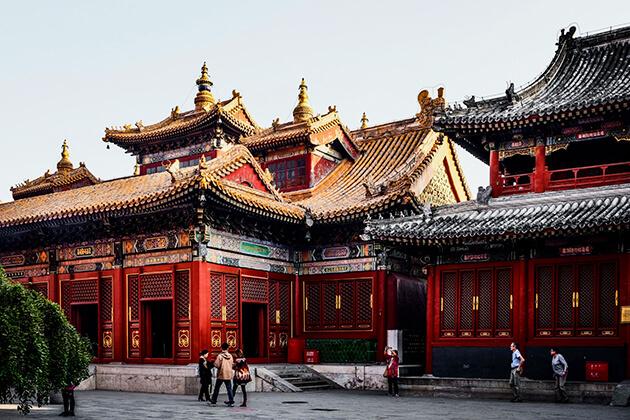 Explore the Lama Temple in Beijing