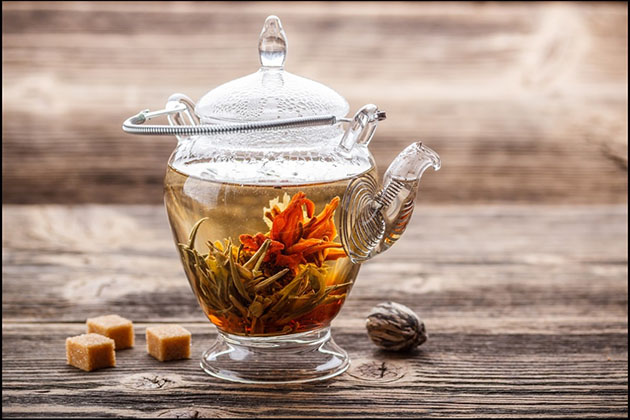 Flower Tea in China - popular Chinese tea