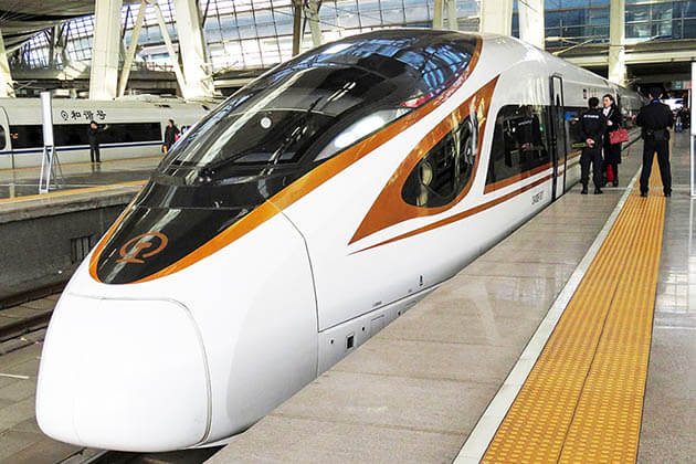 G Train -popular train in China