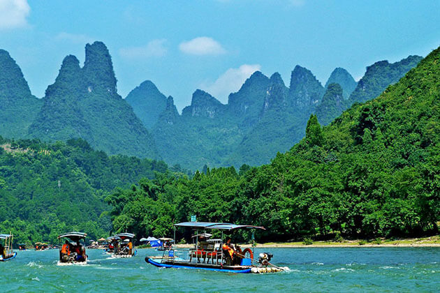 Guilin Li River from China Classic tour