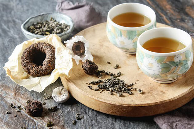Herbal Tea - one of the best famous Chinese tea