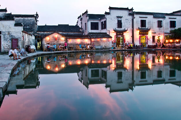 Hongcun Ancient Village -best attraction in Huangshan