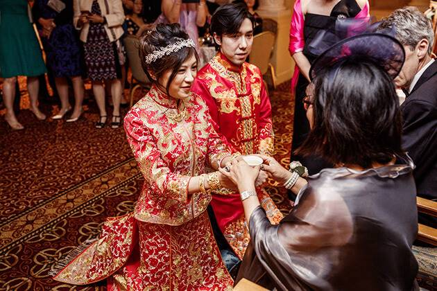 How Chinese Wedding Day Ceremony