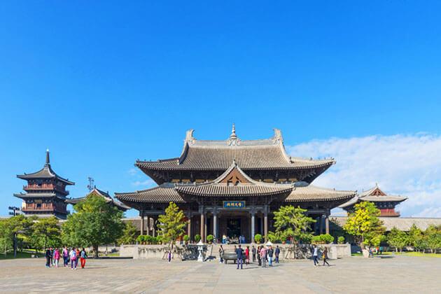 Huayan Temple Datong in China