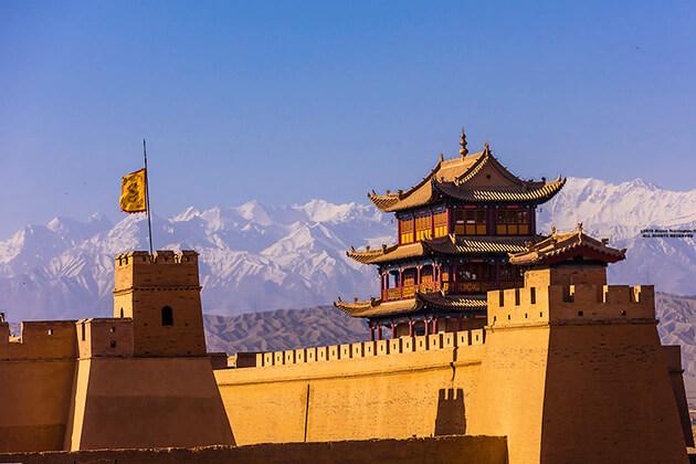 Jiayuguan Pass in China Silk Road Tour