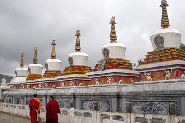 Kumbum Monastery in China