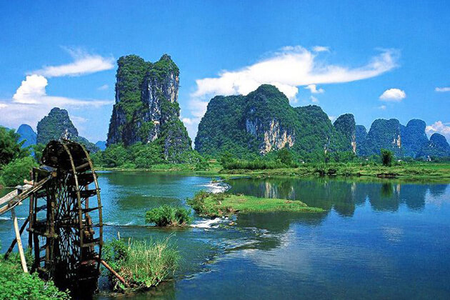 Li River best place to visit in China tour package