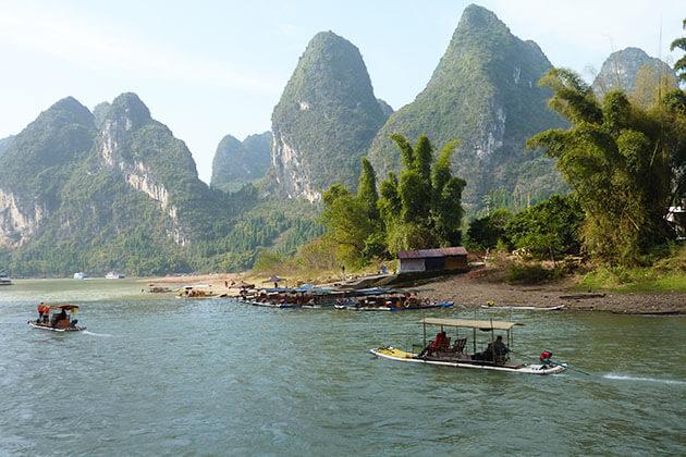 Li River cruise from Guilin to Yangshuo