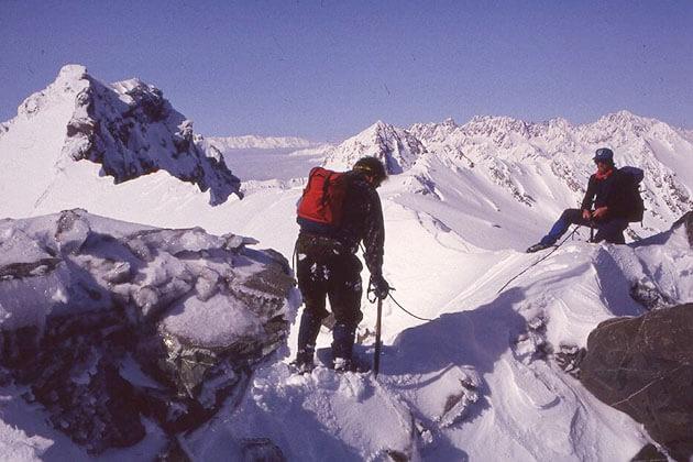 Lion Peak in the winter
