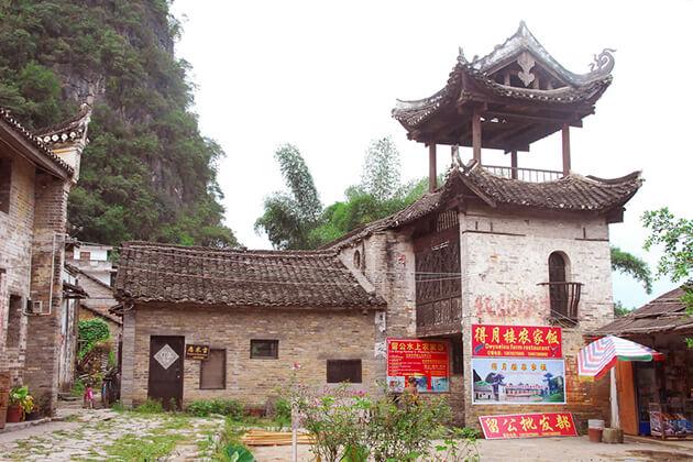 Liugong Village visiting in China biking tours