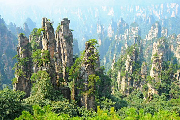 Magnificent Tianzi Mountain from China Classic Tour