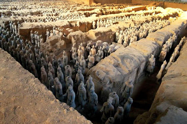 Mausoleum of the First Qin Emperor -China