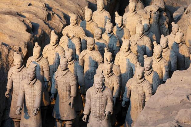 Museum of Terracotta Warriors in Xian