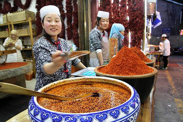 Muslim street food in China