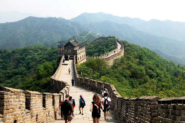 Mutianyu Great Wall exploration from China tour
