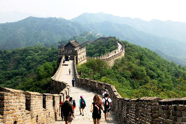 Mutianyu Great Wall in Beijing- China