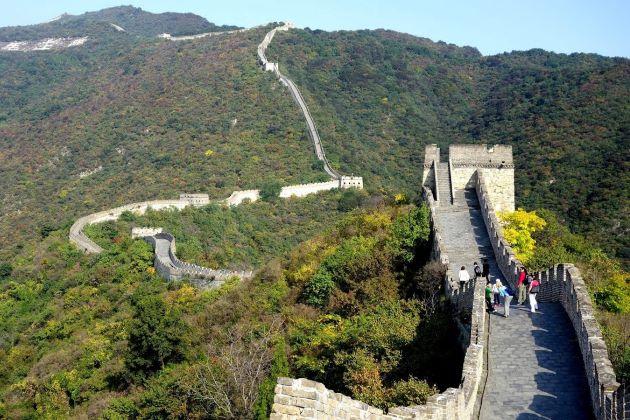 Mutianyu Section - Great Wall of China