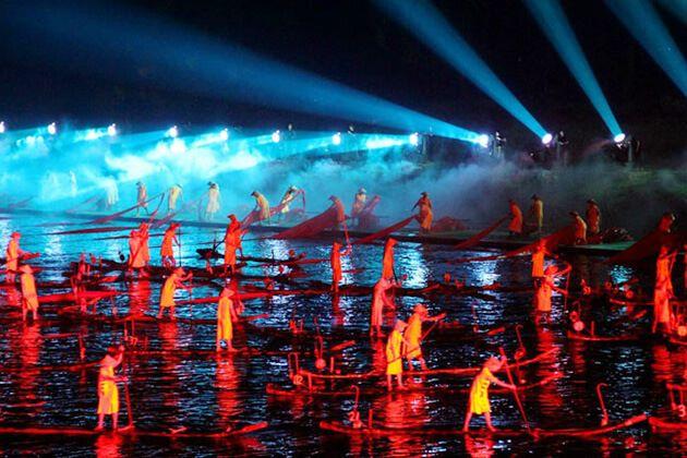 experience utdoor Performance Liu Sanjie- best thing to do in Guilin