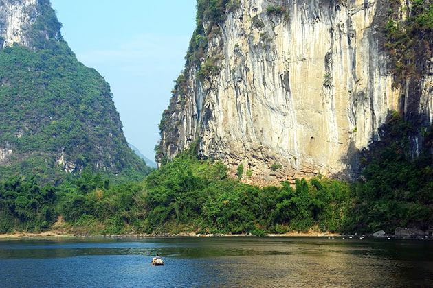 Paronamic view of Li river china