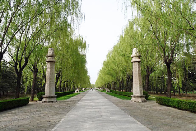 Sacred Road at the Ming Tombs